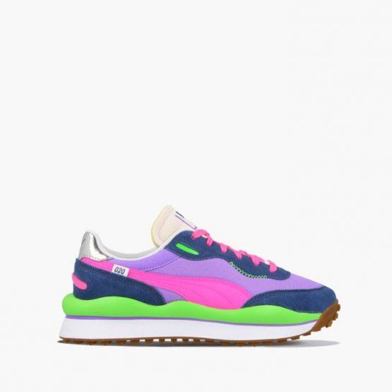 נעלי סניקרס פומה לנשים PUMA Style Rider Play On - צבעוני בהיר