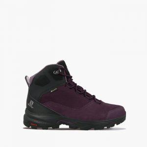 נעליים סלומון לנשים Salomon Outward Gore-Tex Gtx - אדום/סגול