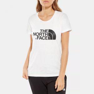 ביגוד דה נורת פיס לנשים The North Face SS Easy Tee 4 - לבן