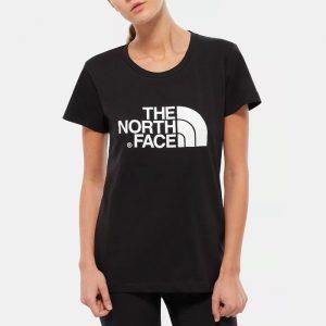 ביגוד דה נורת פיס לנשים The North Face SS Easy Tee 4 - שחור