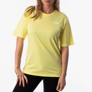 ביגוד דה נורת פיס לנשים The North Face Simple Dome - צהוב