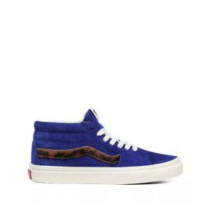 נעליים ואנס לנשים Vans Sk8-Mid - כחול