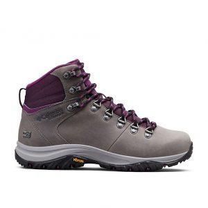 נעליים קולומביה לנשים Columbia 100MW Titanium Outdry - אפור/סגול