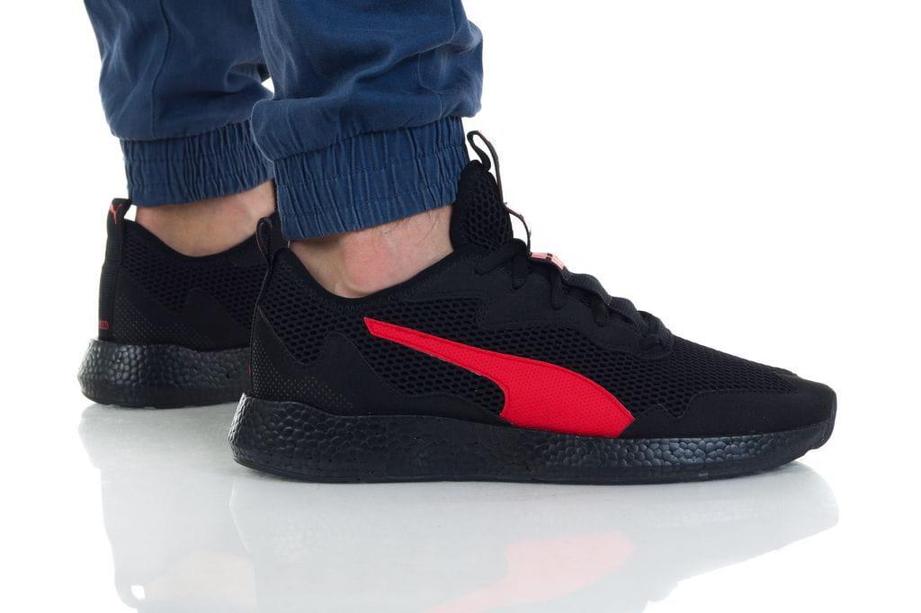 נעליים פומה לגברים PUMA NRGY NEKO SKIM - שחור/אדום