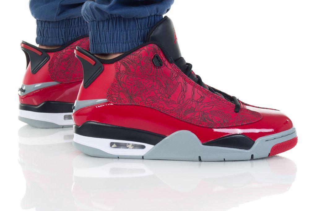 נעליים נייק לגברים Nike AIR JORDAN DUB ZERO - אדום