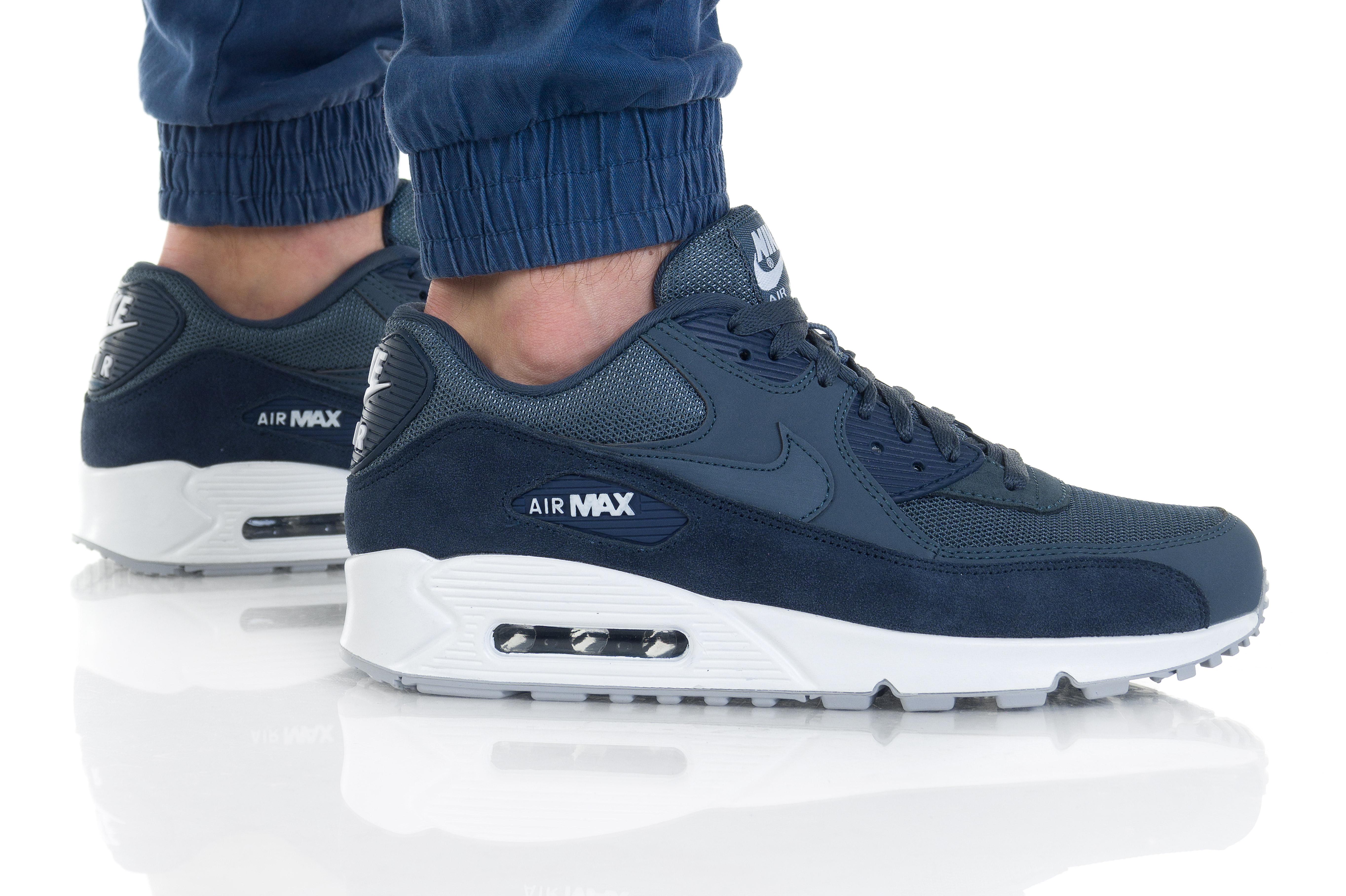נעליים נייק לגברים Nike Air Max 90 Essential - כחול