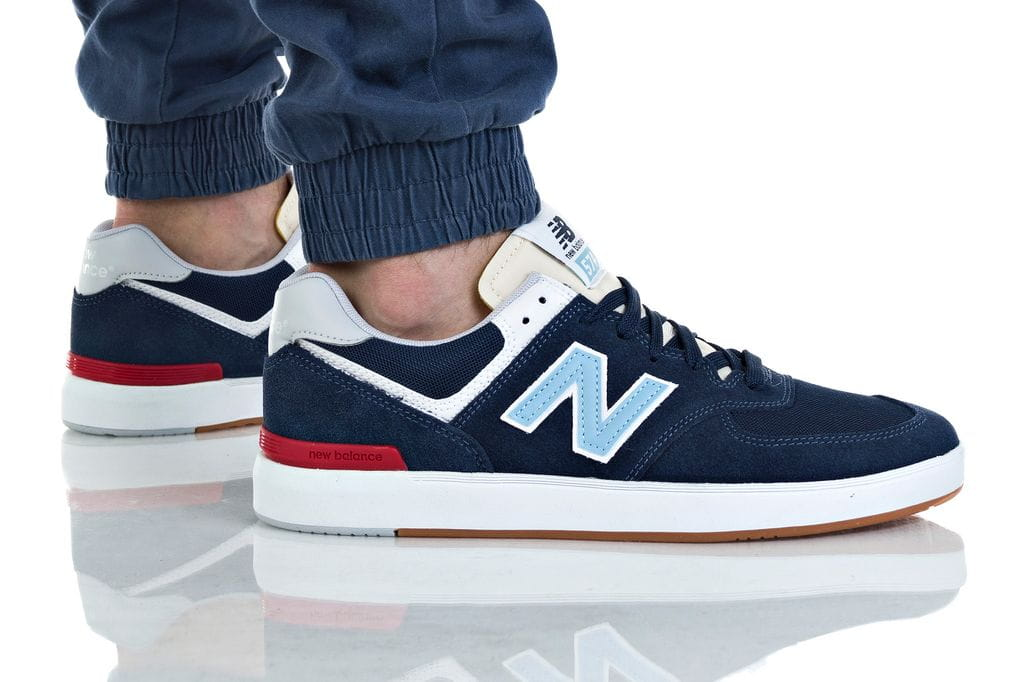 נעליים ניו באלאנס לגברים New Balance AM574 - כחול כהה