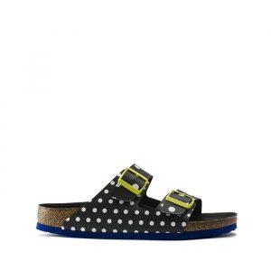 נעליים בירקנשטוק לנשים Birkenstock Arizona - צהוב/שחור