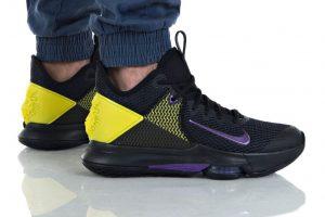 נעליים נייק לגברים Nike LEBRON WITNESS IV - שחור/צהוב