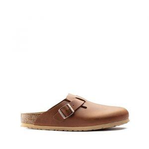 נעליים בירקנשטוק לגברים Birkenstock Boston - חום בהיר