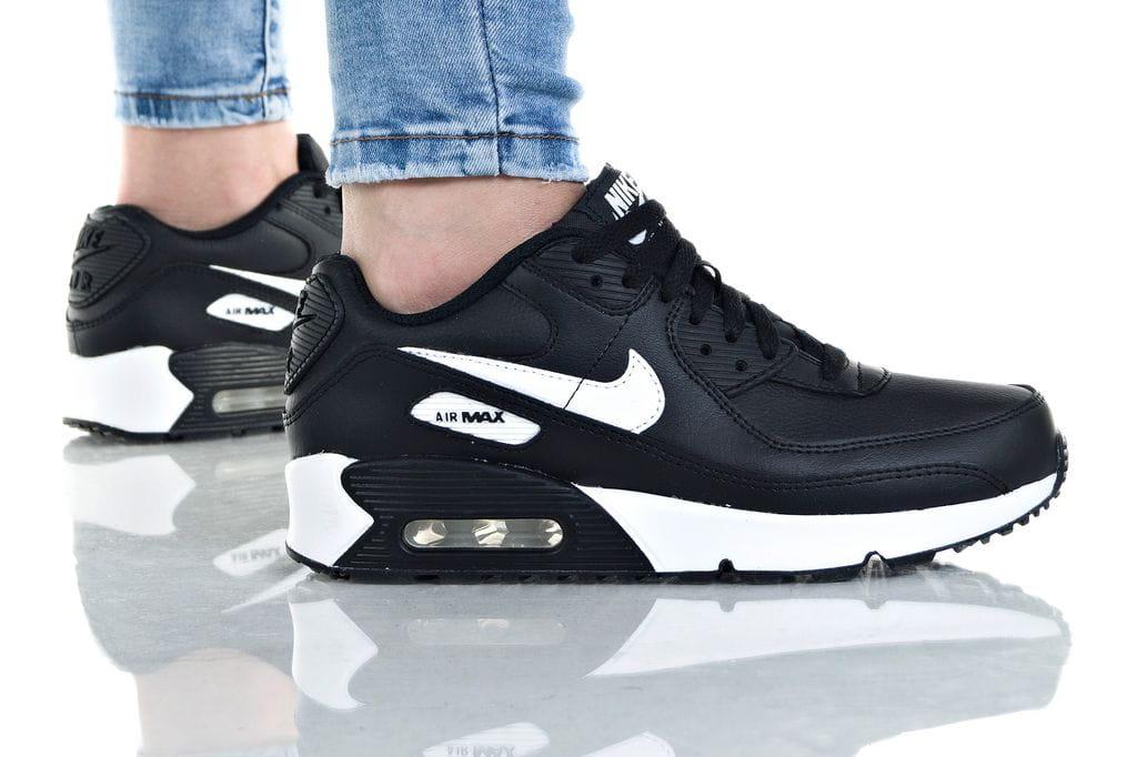נעליים נייק לנשים Nike AIR MAX 90 LTR - שחור/לבן
