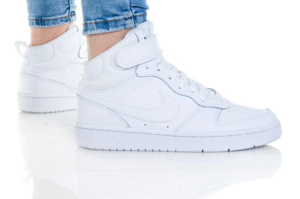 נעליים נייק לנשים Nike COURT BOROUGH MID 2 - לבן