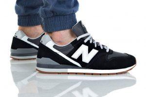 נעליים ניו באלאנס לגברים New Balance CM996BM - שחור/אפור