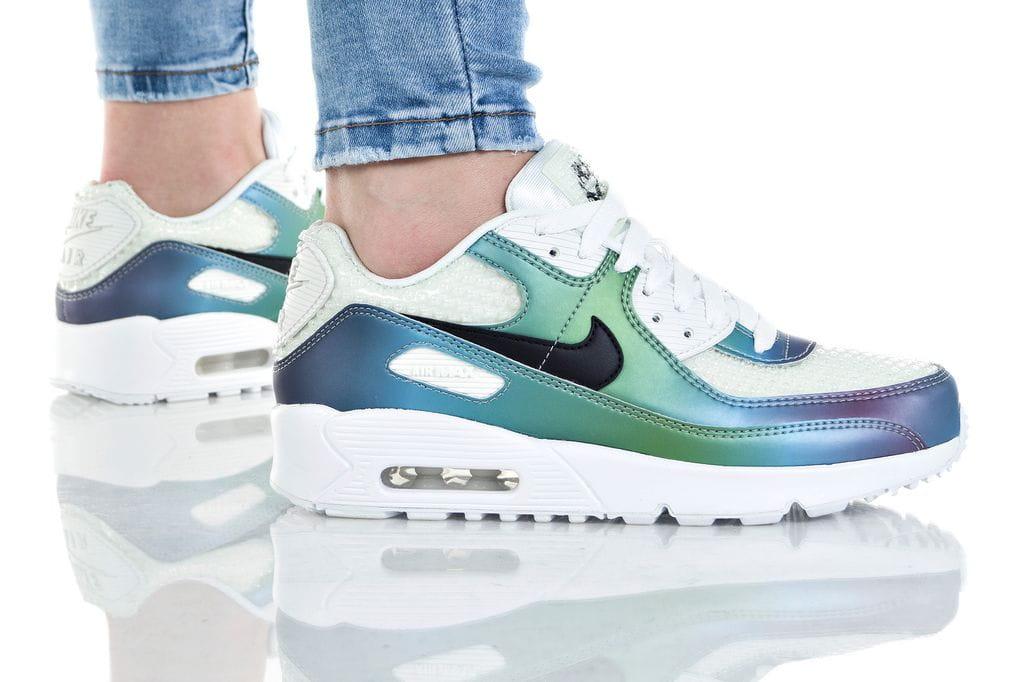 נעליים נייק לנשים Nike AIR MAX 90 LTR - צבעוני בהיר