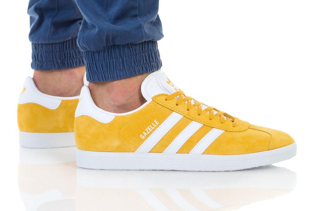 נעליים אדידס לגברים Adidas Gazelle - צהוב