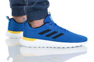 נעלי ריצה אדידס לגברים Adidas LITE RACER CLN - כחול/לבן