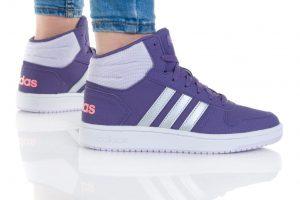 נעליים אדידס לנשים Adidas HOOPS MID 2 - סגול