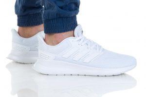 נעלי ריצה אדידס לגברים Adidas RUNFALCON - לבן