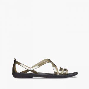 נעליים Crocs לנשים Crocs Isabella Sandal - שחור פחם