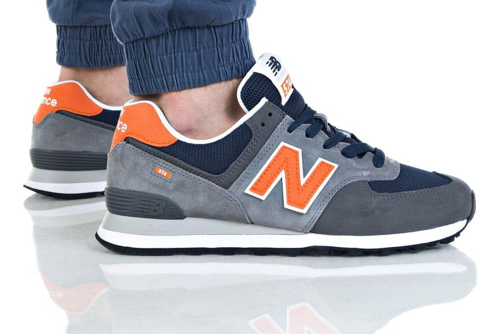 נעליים ניו באלאנס לגברים New Balance ML574 - כתום