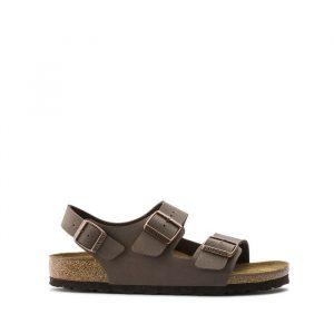 נעליים בירקנשטוק לנשים Birkenstock Milano - חום כהה