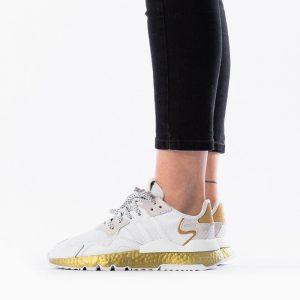 נעליים Adidas Originals לנשים Adidas Originals Originals Nite Jogger - לבן
