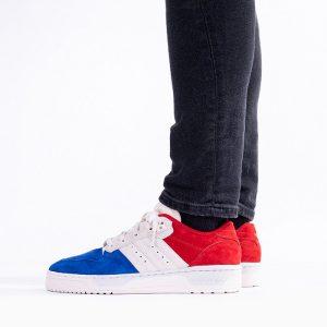 נעלי סניקרס אדידס לגברים Adidas Originals Rivalry Low - צבעוני