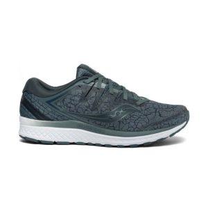 נעליים סאקוני לגברים Saucony GUIDE ISO 2 - אפור/ירוק