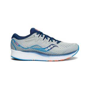 נעליים סאקוני לגברים Saucony RIDE ISO 2 - אפור/כחול