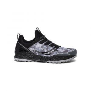 נעלי ריצת שטח סאקוני לגברים Saucony MAD RIVER TR - שחור