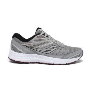 נעלי ריצה סאקוני לגברים Saucony COHESION 13 - אפור מלא