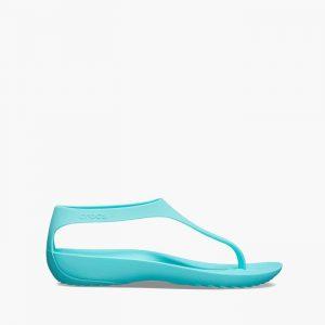 נעליים Crocs לנשים Crocs Serena Flip - כחול