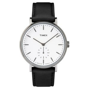 אביזרים טיימקס לגברים TIMEX 2R380 - שחור/לבן