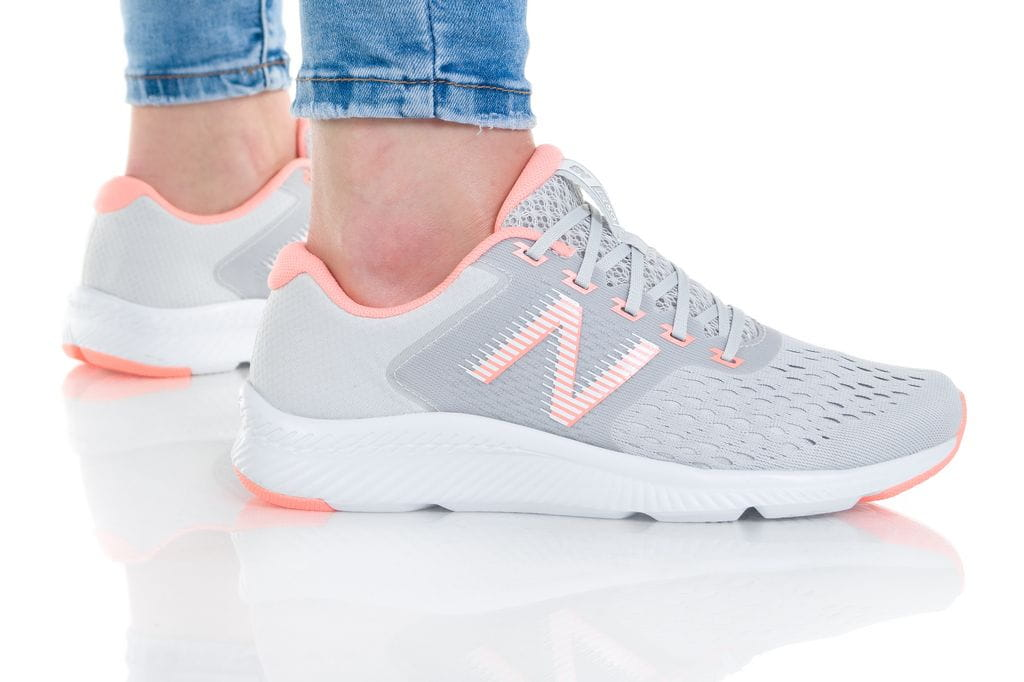 נעלי סניקרס ניו באלאנס לנשים New Balance WDRFTL - אפור/כתום