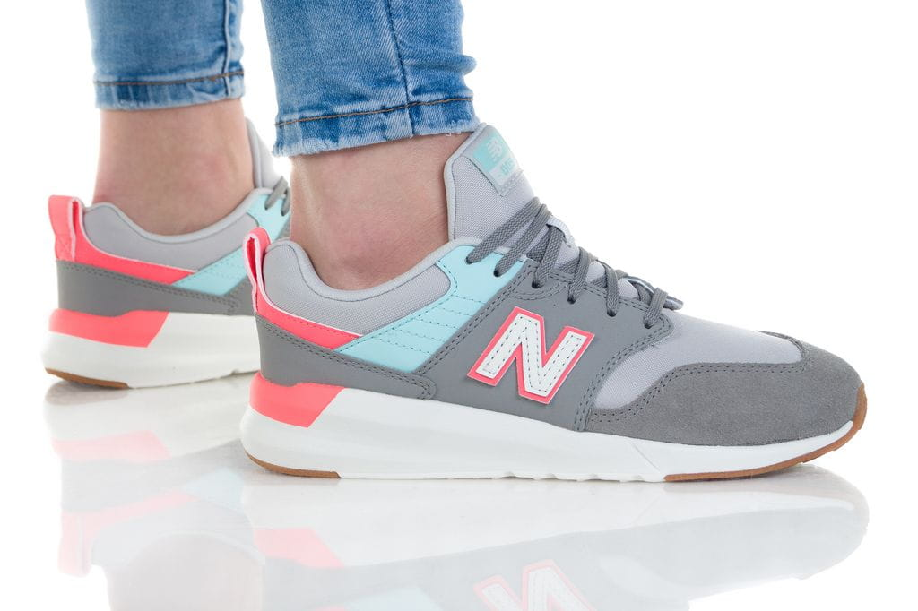 נעליים ניו באלאנס לנשים New Balance YS009 - אפור בהיר