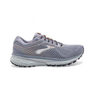 נעליים ברוקס לנשים Brooks Ghost 12 - אפור בהיר