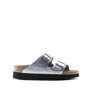 נעליים בירקנשטוק לנשים Birkenstock Papillio Arizona - אפור