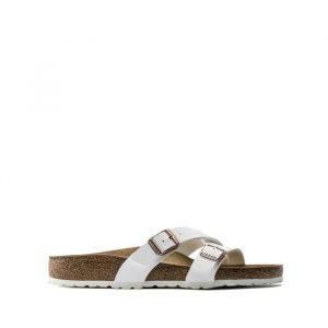 נעליים בירקנשטוק לנשים Birkenstock Yao Balance - לבן מלא