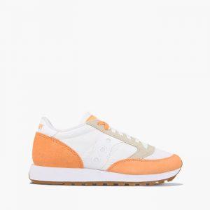 נעליים סאקוני לנשים Saucony JAZZ ORIGINAL VINTAGE - לבן/כתום