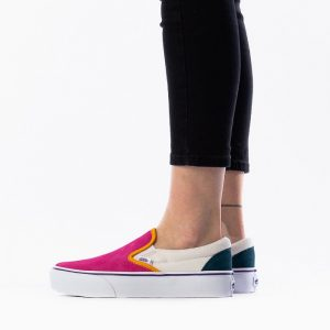 נעליים ואנס לנשים Vans Classic Slip On Platform - צבעוני בהיר