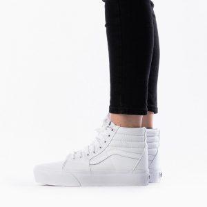 נעליים ואנס לנשים Vans Classic Slip On Platform - לבן