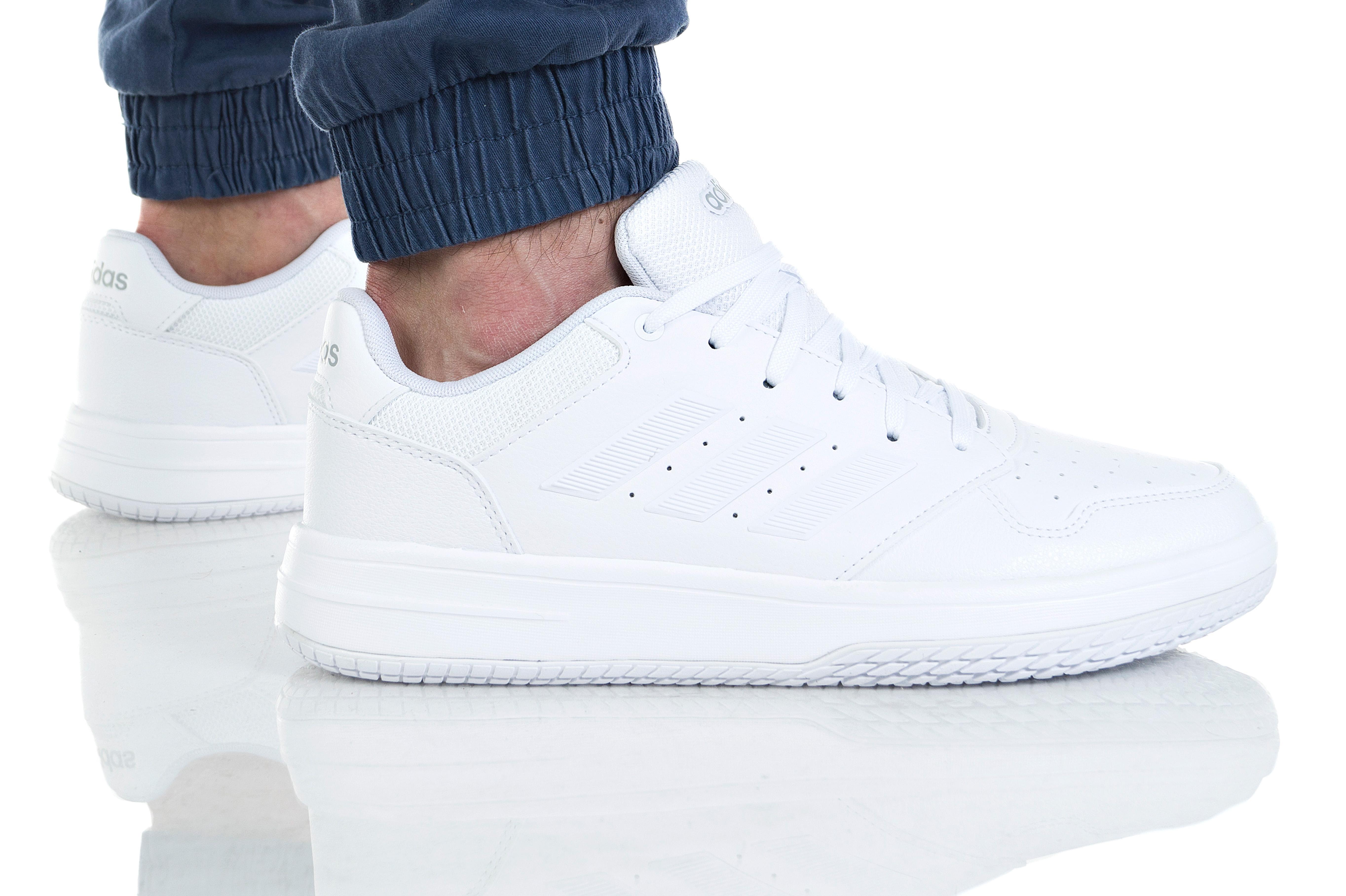 נעליים אדידס לגברים Adidas GAMETALKER - לבן