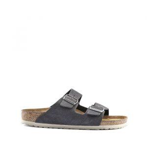 נעליים בירקנשטוק לגברים Birkenstock Arizona - כסף