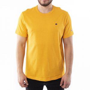 חולצת T צ'מפיון לגברים Champion Small C Logo - כתום
