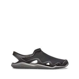נעליים Crocs לגברים Crocs Swiftwater Mesh Wave - שחור