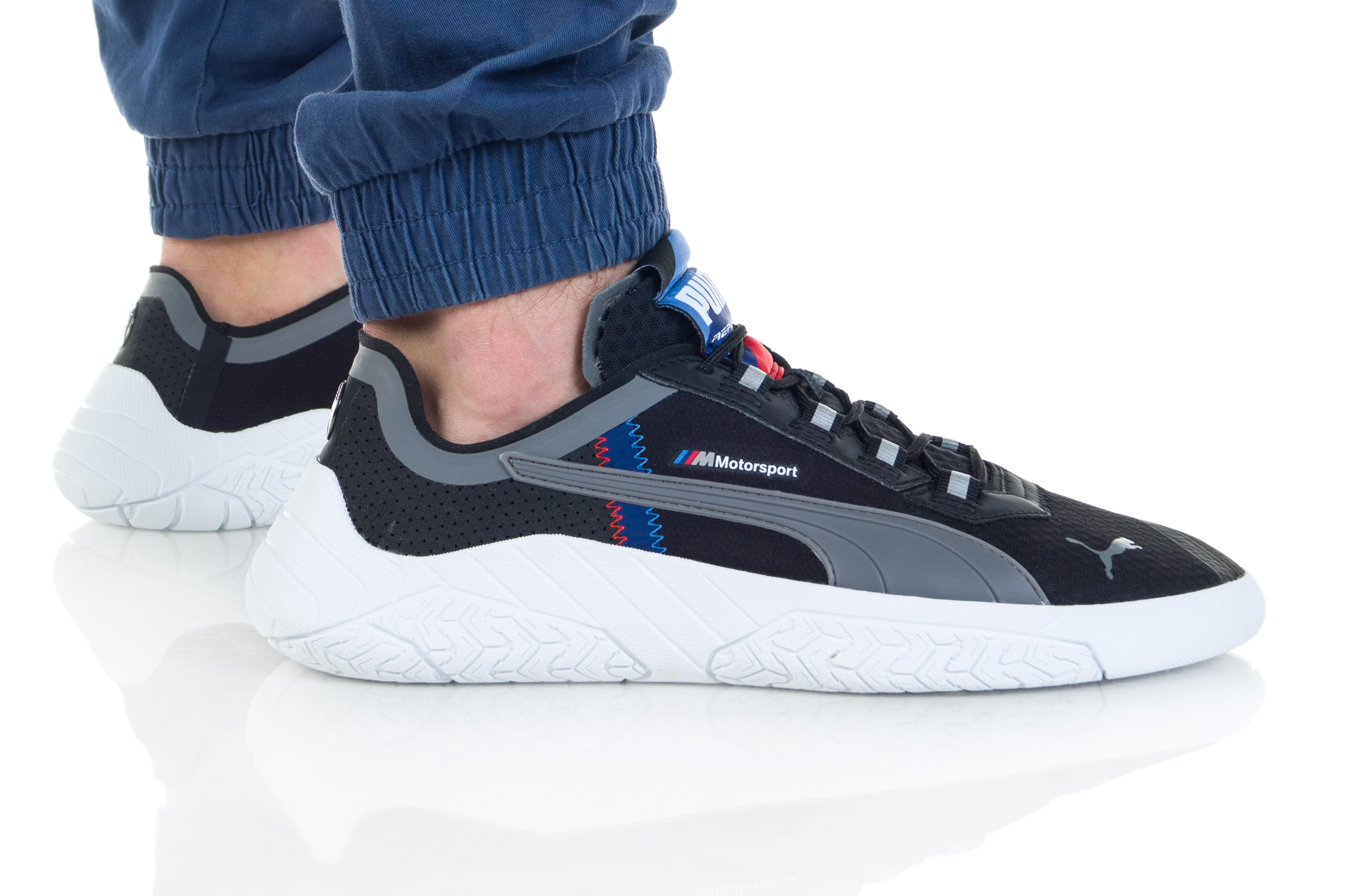 נעליים פומה לגברים PUMA BMW MMS REPLICAT-X - שחור