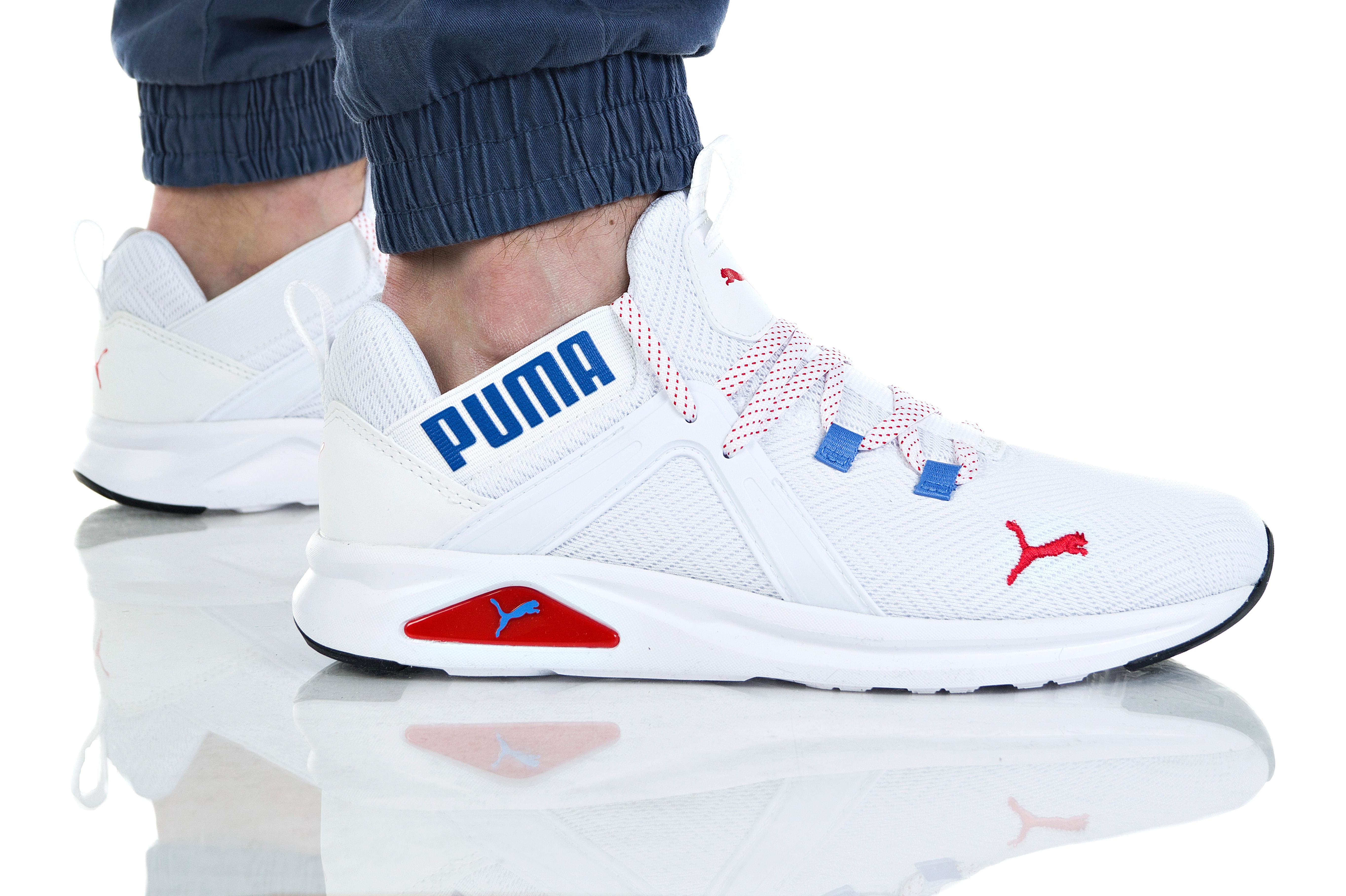 נעליים פומה לגברים PUMA ENZO 2 GEO - לבן