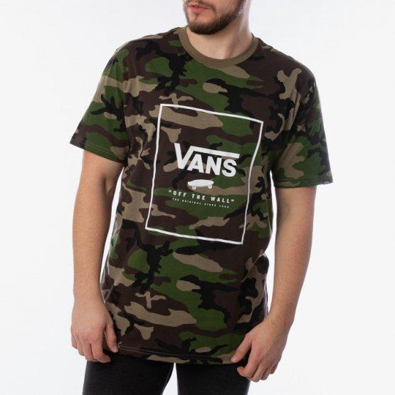 ביגוד ואנס לגברים Vans Print Box - חום הסוואה