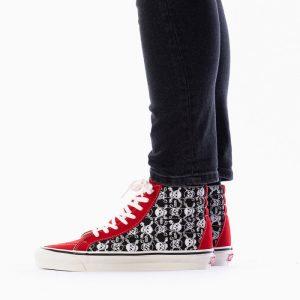 נעליים ואנס לגברים Vans Ua Sk8-Hi 38 Dx Anaheim - שחור/אדום