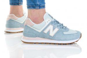 נעליים ניו באלאנס לנשים New Balance WL574 - תכלת
